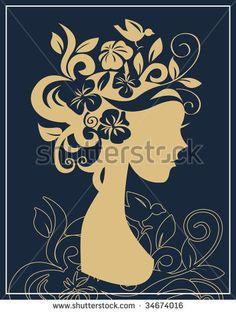Silueta Mujer Fotos, imágenes y retratos en stock | Shutterstock