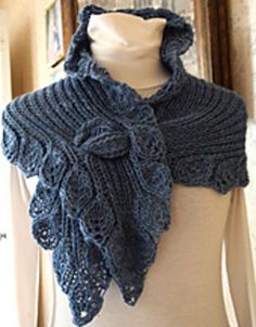 Ruffle is the perfect accessory item for those that like to have options. Ruffle allows you to knit a shawl, cowl or long scarf all with one pattern.