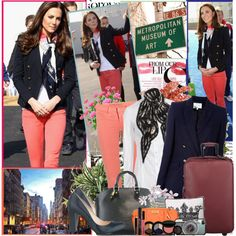 Celebrity style: Kate Middleton (March 15) by fashionmonsters on Polyvore featuring moda, D&G, Pierre Balmain, J Brand, Bottega Veneta, Louis Vuitton, Alexander McQueen, Smashbox, Tumi and PLANT