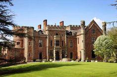 Front of Hotel - Rowton Castle wedding venue in Shrewsbury, Shropshire