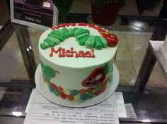 Hungry Hungry Caterpillar Cake for Kid's