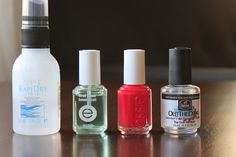 [dandee]: A DIY Manicure That Lasts.  I use these same products.  It really works!