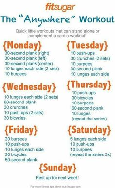 Someone remind me what burpees are again?