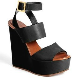 Chloé 'Central' Wedge Sandal on shopstyle.com