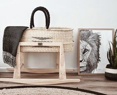 Moses Baskets - Designer Baby Baskets – The Young Folk Collective Baby Bedroom, Nursery Room, Nursery Furniture, Nursery Rhymes, Moses Basket Stand, Baby Baskets, Baby Bassinet, Nursery Neutral, Cool Baby Stuff