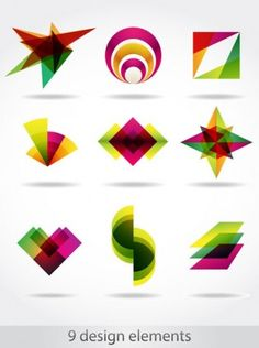 abstract symbol graphics 04 vector