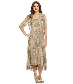 dd9787119eb Alex Evenings Chiffon Jacket Dress  Dillards Possible dress for me....what  · Mother Of Groom DressesBride ...