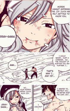 Gray and Juvia part 1 // chapter 499
