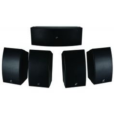 Dayton Audio HTS-1200B Home Theater Speaker Set Black. Dayton Audios home theater systems are engineered to provide excellent clarity and detail for use in any audio application. These speakers are capable of much bigger sound than their small size suggests. A 3-way center channel is key to the design.