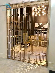 We're a leading designer & manufacturer of custom metal screens, decorative metal screens, metal walls, screen dividers & decorative railings & balustrades for your home, office or business. Decorative Metal Screen, Decorative Panels, Window Grill Design, Door Design, Home Room Design, Interior Design Living Room, Door Grill, Stainless Steel Screen, Room Partition Designs