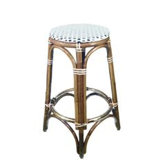 FRENCH BISTRO BAR STOOL, HK-39, DOUBLE STRAIGHT COLORS: CREME, BLACK & BRONZE. WOOD FINISH: LIGHT HONEY #french #bistrochair #bistrochairs #homedecor #rattan #handmadefurniture #french #interior #exterior #interiordesign #custom #frenchbistro #kitchendesign #wahoodesigns #frenchcafe #madeforyou Blue Wood, Gold Wood, White Wood, Rattan Furniture, Handmade Furniture, French Bistro Chairs, Parisian Cafe, French Cafe, Kids Seating