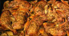 Moje popisowe danie dla gości. Naprawdę wyśmienite. I nie, nie zapomniałam o soli.     Składniki    2 kg udek z kurczaka  1 główka czosnku ... Nigella Lawson, Polish Recipes, Yum Yum Chicken, Cinnamon Rolls, Tandoori Chicken, Salad Recipes, Chicken Recipes, Food And Drink, Tasty