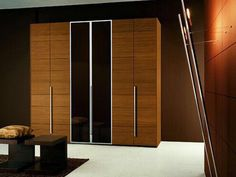 product Four Door Wooden Panel Wardrobe With Mirror By Stallion of store Stallion Furnitures Ikea Wardrobe Design, Sliding Door Wardrobe Designs, Ikea Pax Wardrobe, Mirrored Wardrobe, Wardrobe Doors, Wardrobe Closet, Wooden Almirah, Almirah Designs, Pooja Room Design