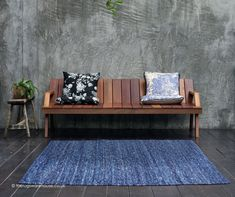Jute Rug, Woven Rug, Moroccan Area Rug, Circle Rug, Types Of Rugs, Round Rugs, Tribal Rug, Modern Rugs, Shades Of Blue