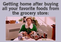 LOLOL. This is why I make sure I eat before I go grocery shopping.