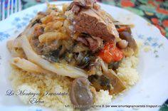 La Montagna Incantata: Il couscous tunisino di mia suocera Marie...il couscous che fece sbocciare l'amore!!