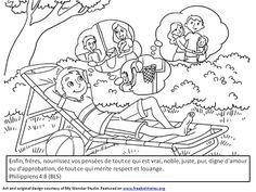 versets gratitude coloriage enfants 4