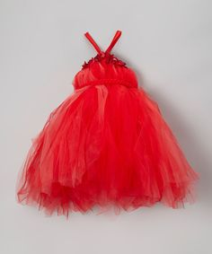 Look at this Red Tutu Dress - Infant, Toddler
