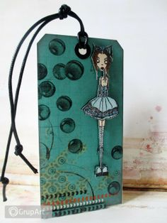 OC na rower Tag Art, Mixed Media Art, Handicraft, Card Making, Objects, Scrapbooking, Crafty, Canvas, Gallery