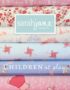 Sarah Jane's lovely children's fabrics