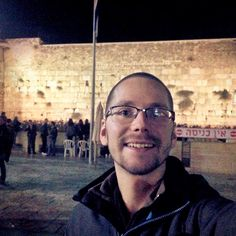 Me with the Wailing Wall