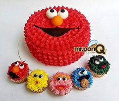 Elmo y sus amigos