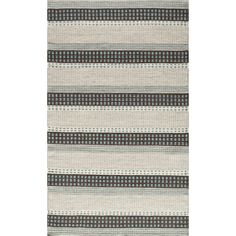Sorrel Dashes Reversible Indoor Hand Woven Rug (9' x 12') | Overstock.com Shopping - The Best Deals on 7x9 - 10x14 Rugs