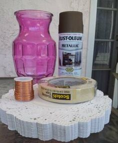 make a morocan lantern with a dollar store vase