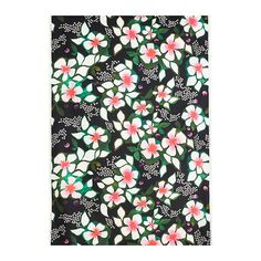 """Solgerd"" - patterned fabric from IKEA. I wish I knew how to sew a duvet cover. (source: Ikea)"