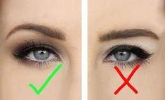 Make Up - Hooded eyes makeup hacks, tips, tricks for people with hooded eyelids; Asian Eye Makeup, Eye Makeup Tips, Makeup Tricks, Smokey Eye Makeup, Smoky Eye, Hair Makeup, Makeup Ideas, Makeup Tools, Beauty Makeup