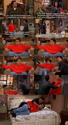 Monica and Chandler plan an Atlantic City getaway in order to have an intimate weekend away from their friends. Friends Tv Show, Friends Funny Moments, Friends Tv Quotes, Serie Friends, Friends Scenes, Funny Friend Memes, Friends Cast, Friends Episodes, I Love My Friends