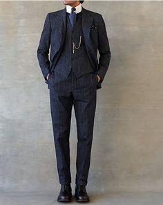 Striped Denim Sport Coat - RRL  Sport Coats - RalphLauren.com