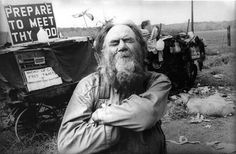 Ches McCartney, the Goat Man, North Ga, 1967