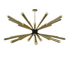 Inspired by the acclaimed jazz trumpet player Tommy Dorsey, this mid-century modern chandelier is a unique lighting fixture that embodies the musicality of the Mid Century Modern Chandelier, Mid Century Lighting, Contemporary Chandelier, Unique Chandelier, Brass Chandelier, Mid Century Dining, Mid Century Decor, Mid Century House, Century Hotel