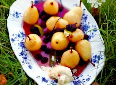 Perfect Poached Pears Recipe More