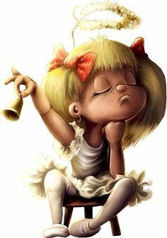 .the little diva angel