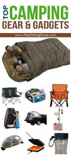 Favorite Camping Gear & Gadgets