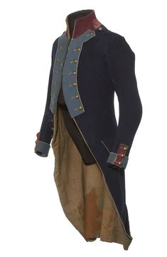 Uniform from an Batavian Republic infantry soldier.