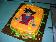 fiesta tematica dragon ball - Buscar con Google Dragon Birthday Cakes, 5th Birthday, Dragon Ball Z, Party Planning, Party Time, Diy Crafts, Desserts, Google Search, Food
