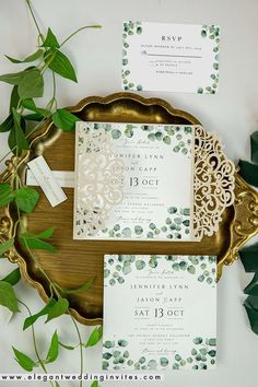 6 Beautiful Wedding Colors with Neutral Sage Green & Matching Invitations Olive Green Weddings, Emerald Green Weddings, Sage Green Wedding, Green Wedding Invitations, Pink Invitations, Wedding Invitation Cards, Invites, Wedding Color Combinations, Laser Cut Invitation