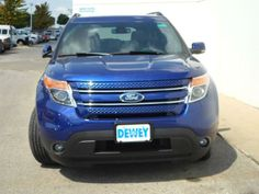 2013 Ford Explorer Limited 4x2 Limited 4dr SUV SUV 4 Doors Blue for sale in Ankeny, IA Source: http://www.usedcarsgroup.com/new-ford-explorer-for-sale