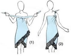 how to use a sarong buckle
