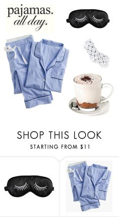 """#lazyday"" by delia-nicole ❤ liked on Polyvore featuring J.Crew, Mother and LovelyLoungewear"