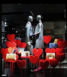 Valentines day. #Red #merchandising