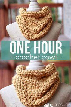 Home»Patterns» [FREE Pattern] You Can Make this Stylish Crochet Cowl in an Hour even if You're a Beginner![FREE Pattern] You Can Make this Stylish Crochet Cowl in an Hour even if You're a Beginner!Yes, it's true! It's an hour well spent!