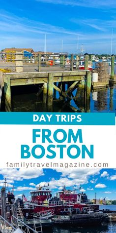 This is the perfect year to do some day trips. Here are some of the best day trips from Boston for families. Holiday Destinations, Vacation Destinations, Dream Vacations, Travel Goals, Us Travel, Travel Couple, Family Travel, Best Places To Travel, Places To Visit