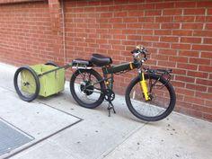 Bike Wagon, Bicycle Cart, Trike Bicycle, Motorized Bicycle, Bike Cargo Trailer, Dog Trailer, Trailer Diy, Bike Trailers, Utility Trailer