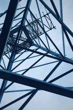 Low Angle View of Electricity Pylon Against Sky · Free Stock Photo Metal Buildings, Modern Buildings, Free Stock Photos, Royalty Free Photos, Low Angle Shot, Angle Shooting, Steel Bridge, Photo Dimensions, Concrete Building