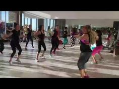 TIPPY TOE -DJ Francis IN KUWAIT- ZUMBA with ZES KELLY BULLARD - YouTube