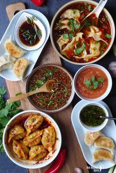 Six dumpling sauces (Ultimate Dumpling Guide part 5) | Red House Spice Dumpling Sauce, Dumpling Filling, Dumplings For Soup, Chinese Dumplings, Steamed Dumplings, Asian Recipes, Healthy Recipes, Ethnic Recipes, Asian Desserts
